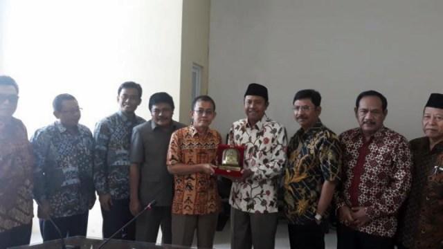 DPRD Ngawi Belajar Bersama E-Planning dan E-Budgeting di Kabupaten Pesawaran. Foto-Istimewa