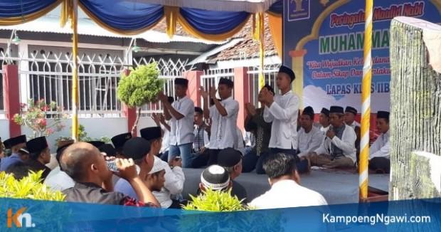 Tari Saman dan Hadrah Warga Binaan Lapas Ngawi Mengisi Peringatan Maulid Nabi