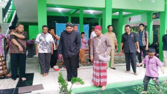 Wakil Bupati Ngawi Hadiri Peluncuran Program Menuju Panti Mandiri Panti Asuhan Muhammadiyah Ngawi, Senin (05/11/2018). Foto-Dok. Pwmu.co