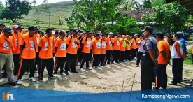 Ratusan Peserta Ikuti Pelatihan Kesiapsiagaan Penanggulangan Bencana BPBD Ngawi