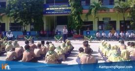 Pelajar SMP Mulia Belajar Berdemokrasi dalam Memilih Ketua IPM yang Baru