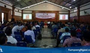 Seluruh Kades dan Pengurus BUMDesa di Ngawi Ikuti Sosialisasi Pengenalan OJK dan Workshop Penguatan BUMDesa