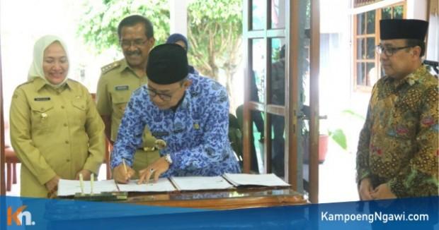 Bupati Ngawi Tandatangani Kesepakatan Bersama Wiranegoro