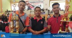 9 Atlet SMA Muhi Turut Mengantarkan Tapak Suci Putera Muhammadiyah Ngawi menjadi Juara Umum Bupati Cup V dan Kapolres Cup II Tahun 2018