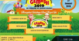 5 Kategori Lomba akan Dikompetisikan dalam Gemash 2019