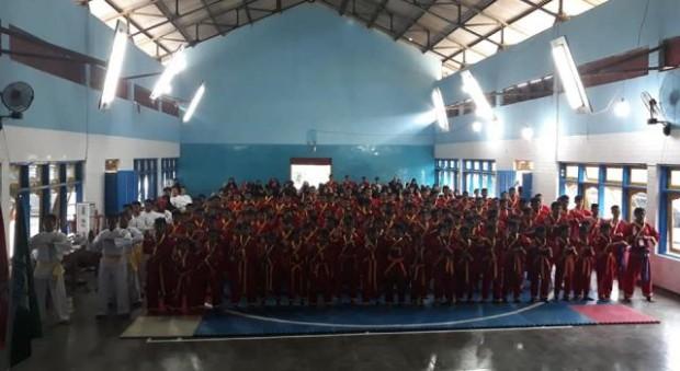 410 Peserta Turut Berpartisipasi dalam Kejurda I Tapak Suci Putera Muhammadiyah Ngawi
