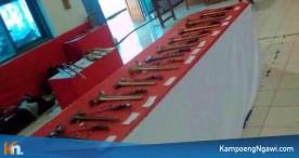 Ratusan Pusaka Dipajang dalam Pameran Pusaka Ngawi 2018