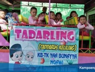 Siswa TK Yaa Bunayya Ngawi Belajar Banyak Materi dari Agenda Tadarling