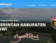 Ada Perubahan Lagi dari Tampilan Website Resmi Pemerintah Kabupaten Ngawi