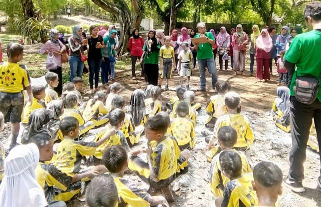 Experiential Learning SD Negeri Pangkur 1 di Taman Wisata Tawun, Sabtu (12/01/2019). Foto-Istimewa