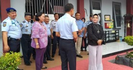 Ka Kanwil Kemenkumham Jawa Timur Kunjungi Lapas Ngawi