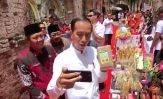 Beras Merah Putih Organik Ngawi Mencuri Perhatian Presiden Jokowi