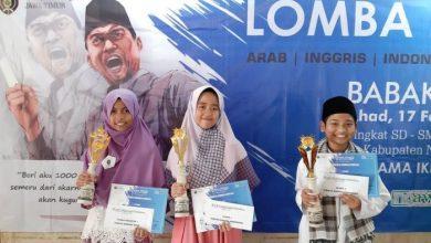 Photo of Juara Lomba Pidato 3 Bahasa IKPM Cabang Ngawi 2019 Tingkat SMP Nyaris Diboyong Semua oleh SMPIT Harum Ngawi