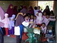 TK Yaa Bunayya Ngawi Piknik Sambil Belajar Di Jamu Jowo dan Kebun Jambu Kristal