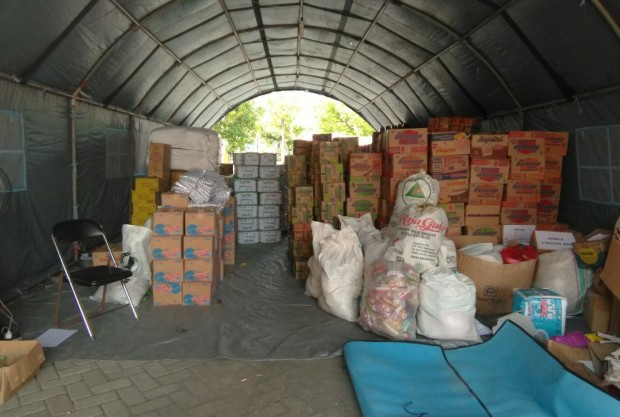 BPBD Ngawi Fokus Salurkan Bantuan Logistik Kepada Warga Terdampak Banjir