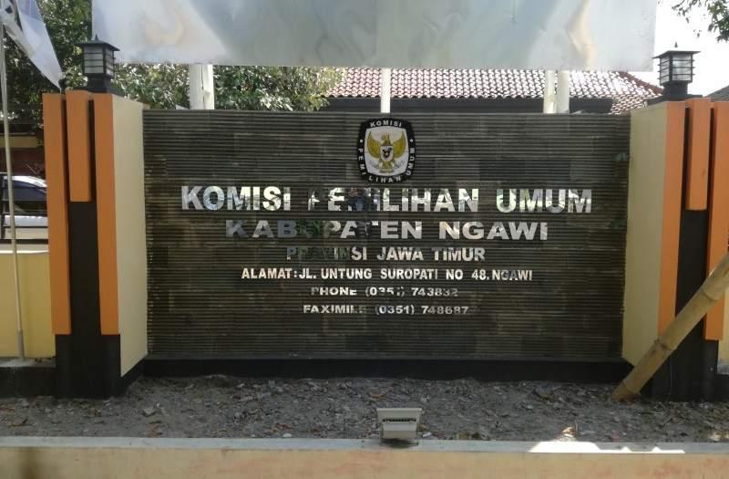Kantor KPU Ngawi. Foto-Istimewa