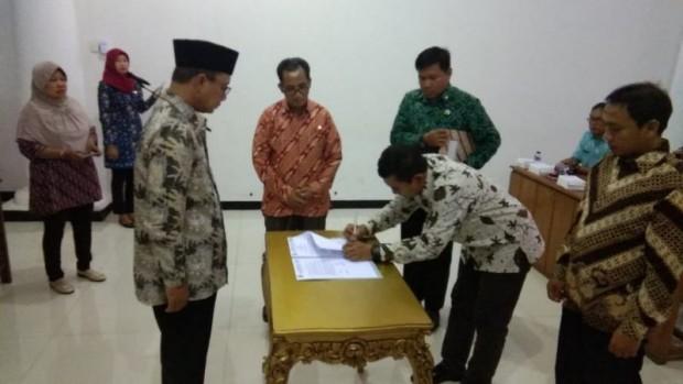 Dua Direktur Perusahaan Daerah Ngawi Resmi Dilantik Bupati