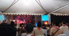 1.000 Peserta Ikuti Festival Wirakarya Kampung Kelir Pramuka 2019 di Air Terjun Suwono