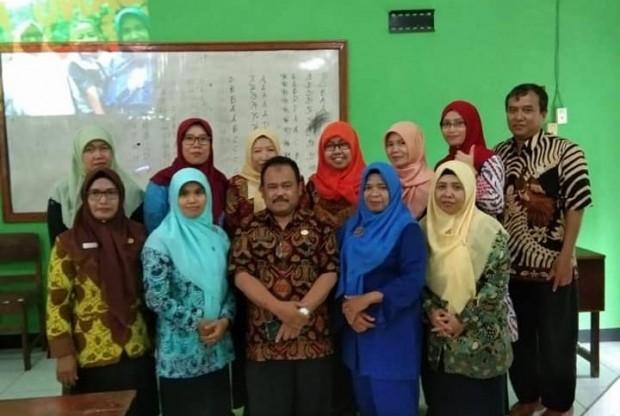 Sri Hartini Menjadi Guru SD Berprestasi Tingkat Kabupaten Tahun 2019