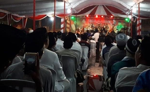 Ribuan Jamaah Ikuti Tabligh Akbar Mewujudkan Pemilu 2019 Tanpa Hoax di Ngawi