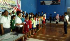 Seleksi O2SN SD Tingkat Kabupaten Ngawi tahun 2019 Mempertandingkan 5 Cabang Olahraga