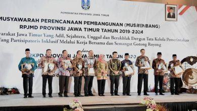Photo of Kabupaten Ngawi Menerima Penghargaan Perencanaan Pembangunan Daerah dari Gubernur Jatim