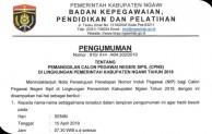 Penyerahan SK Pengangkatan 402 CPNS Kabupaten Ngawi Akan Disampaikan Senin 15 April 2019