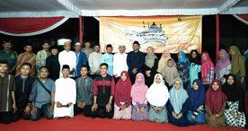 Semangatnya Ana Mursyida Dampingi Sang Suami dalam Safari Ramadhan di Ponpes Nurul Burhan Widodaren