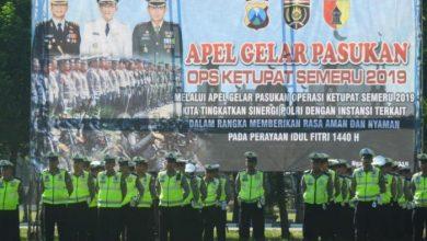 Photo of Kapolres Ngawi Pimpin Apel Gelar Pasukan Operasi Ketupat Semeru 2019
