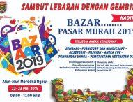 Datang dan Ramaikan Bazar Pasar Murah Ngawi 2019