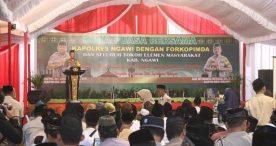 Kapolres Ngawi Ajak Forkopimda dan Seluruh Elemen Masyarakat Buka Puasa Bersama
