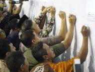 Deklarasi Damai Pilkades Serentak 178 Desa Kabupaten Ngawi Tahun 2019