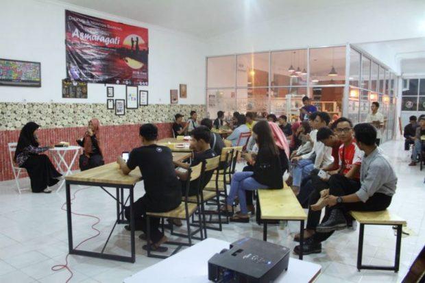 Komunitas Semprong Kenalkan Film Asmaragati kepada Masyarakat Ngawi