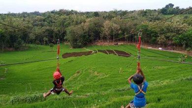 Photo of Wisata Kayangan Manjakan Pengunjung dengan Lintasan Flying Fox Terpanjang di Ngawi