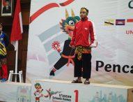 Atlet Pencak Silat dari Ngawi Raih Medali Emas di Asean Schools Games 2019