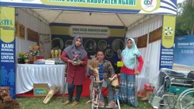 Photo of Penyandang Disabilitas Ikut Dalam Pameran Produk Unggulan Ngawi