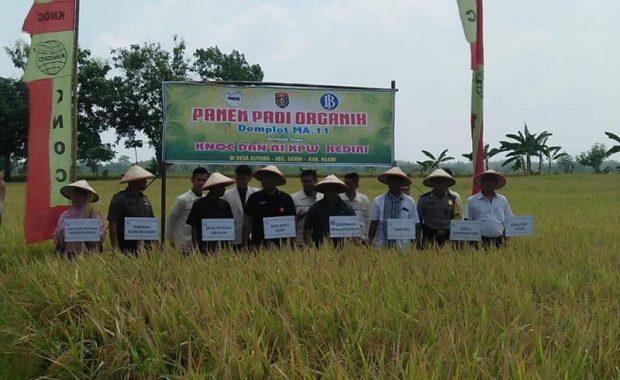 Disperta Ngawi Siap Membiayai Proses Sertifikasi Pertanian Organik