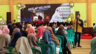 Photo of Seminar Muslim Milenial Tonggak Masa Depan di GOR Bung Hatta Ngawi Diikuti Ribuan Peserta