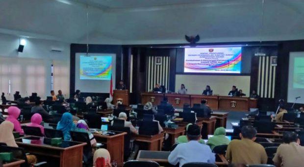 Sidang Paripurna Merupakan Kegiatan Terakhir Anggota DPRD Ngawi Periode 2014-2019