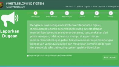 Photo of Laporkan Dugaan Tindakan Korupsi di Ngawi Melalui Whistleblowing System Ini