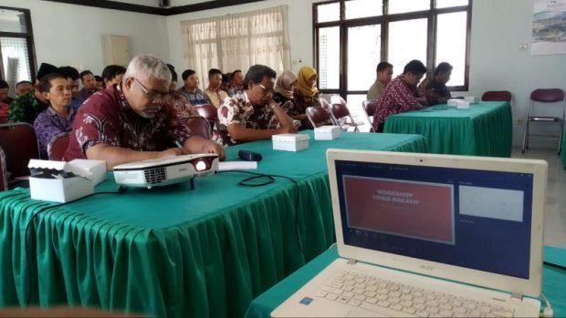 19 Tim Desa Perwakilan Kecamatan se-Ngawi Ikuti Workshop Video Kreatif