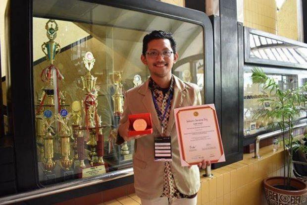 Mahasiswa Asal Ngawi Ini Raih Juara I dalam Kompetisi The World Invention Technology Expo 2019