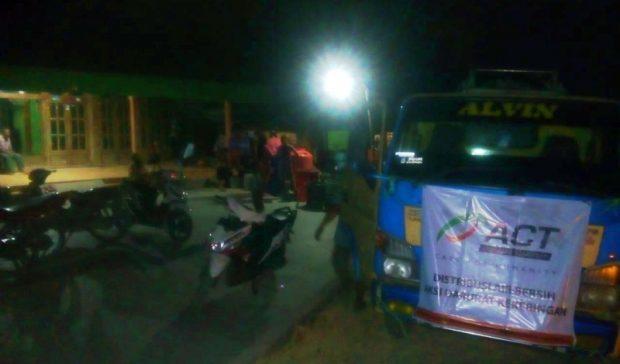 Aksi Cepat Tanggap Distribusikan Air Bersih di Kecamatan Bringin