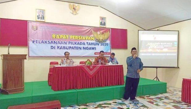 Bawaslu Ngawi Siap Kawal Pelaksanaan Pilkada 2020