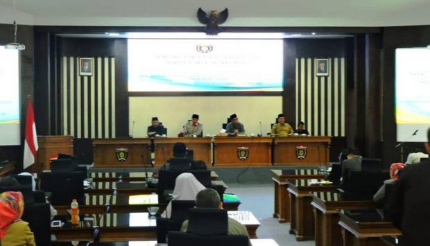 DPRD Ngawi Gelar Paripurna Penetapan Alat Kelengkapan Dewan