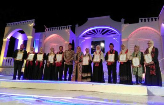 Bupati Ngawi Resmikan Asosiasi Perajin Batik Ngawi