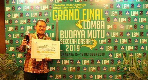 SD Muhammadiyah 1 Ngawi Raih Juara 1 Lomba Budaya Mutu Nasional Kategori SD Swasta Komponen Perpustakaan