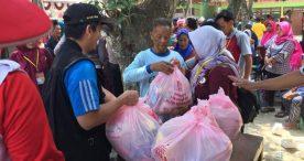 Dinkes Ngawi Gelar Bakti Sosial Dalam Rangka Hari Kesehatan Nasional ke-55