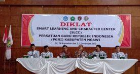 Ony Anwar Membuka Diklat SLCC PGRI Kabupaten Ngawi