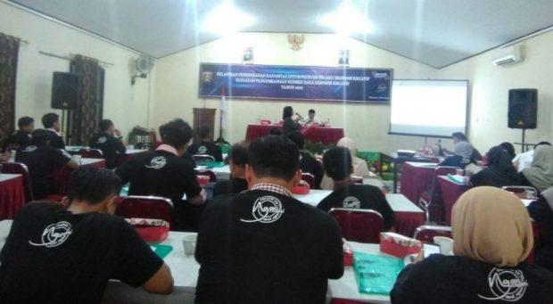 Pemateri Dorong Peserta Pelatihan Peningkatan Kapasitas Entrepeneur Ngawi Melek Teknologi